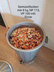 Gemüseflocken-Mix 8 kg inkl wiederverschliessbarem