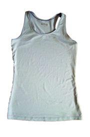 Top Sportoberteil Funktionsshirt Shirt hellblau