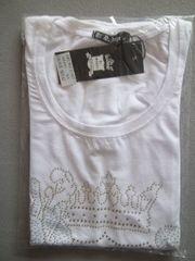 Neu weiß T-Shirt Originalverpackung Gr