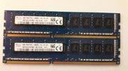 2 x 4GB PC3-14900 DDR3