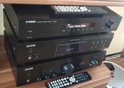 Denon Yamaha Teufel Stereo Hifi