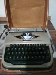 Reise Schreibmaschine Brosette Sammlerstück
