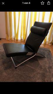 Lederliege Sessel X-Chair Interprofil Joachim