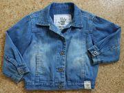 Leichte Jeansjacke Gr 86