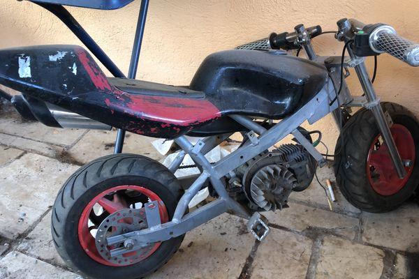 Minibike zum Aufbau Schlachten oder
