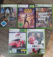 5 Xbox 360 Spiele GTA5