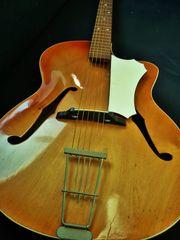 Archtop Jazz Gitarre 60er Jahre