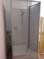 Komplett Dusche mit integriertem Boiler