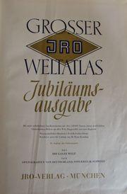 JRO Weltatlas 1954 Jubiläumsausgabe 10