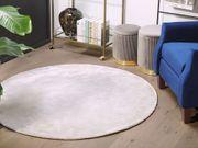 Teppich hellgrau ø 140 cm