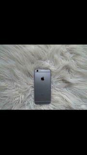 IPhone 6s Space grau mit