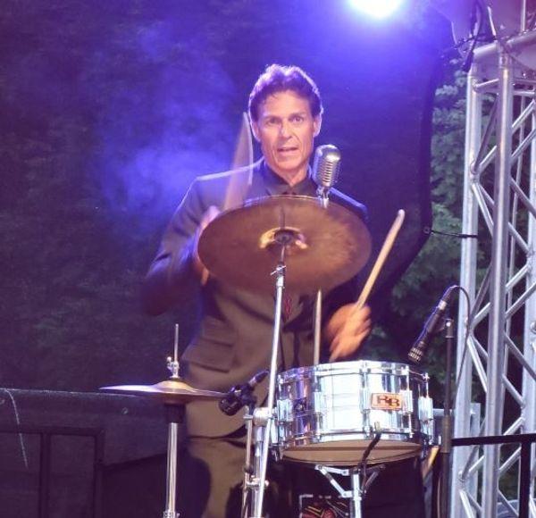 Drummer Rock n Roll Rockabilly