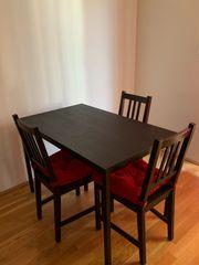 IKEA Tisch und 3 Stühle