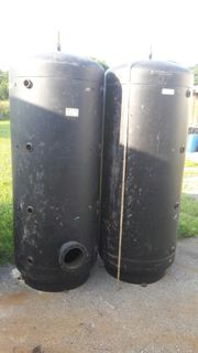 1 Stück Stahltanks Dm 80