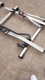 VW Dachgepäckträger mit Thule Fahrradträger