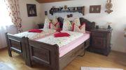 Romantische Schlafzimmer im Bauernhaus Stil