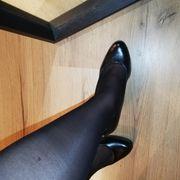 Getragene Socken und Nylons Fetisch