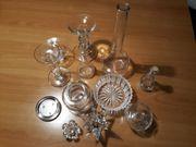 versch Kerzenhalter Vasen usw