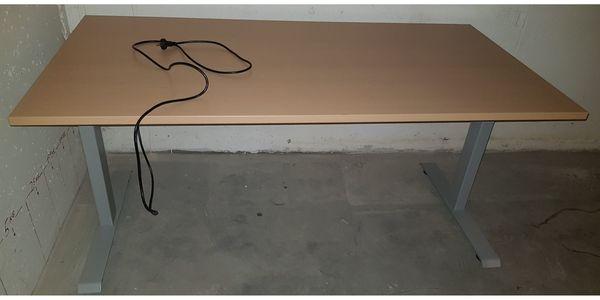 Bürotisch Schreibtisch ergonomisch höhenverstellbar wie