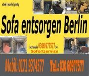 Sofa entsorgen Berlin