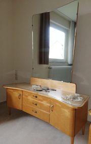 Antike Schlafzimmermöbel Spiegelkommode Bett