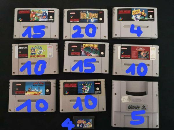 SNES Spiele Super Mario World