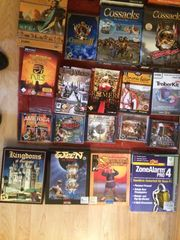 ca 40-50 PC-Spiele gegen Gebot