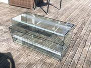 Glas Terrarium 89x35x40