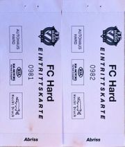 2 Freikarten FC Hard