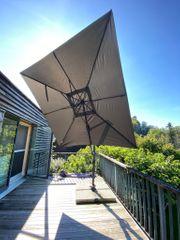 Alu-Multipendelschirm Schirmgrösse 275x275cm