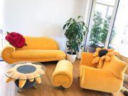 Bretz Gaudi Designer Wohnlandschaft Set