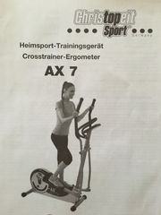 Christopeit Sport Crosstrainer Ergometer AX