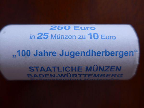 10EUR Rollen - 925er Silber