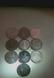 5 Deutsche Mark Münzen