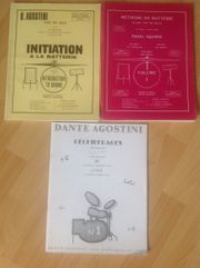 3 Schlagzeug-Lehrbücher