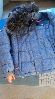Neuwertige Skijacke Winterjacke blau von