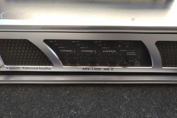 Verstärker APX 1400 MK2 - Top-Zustand