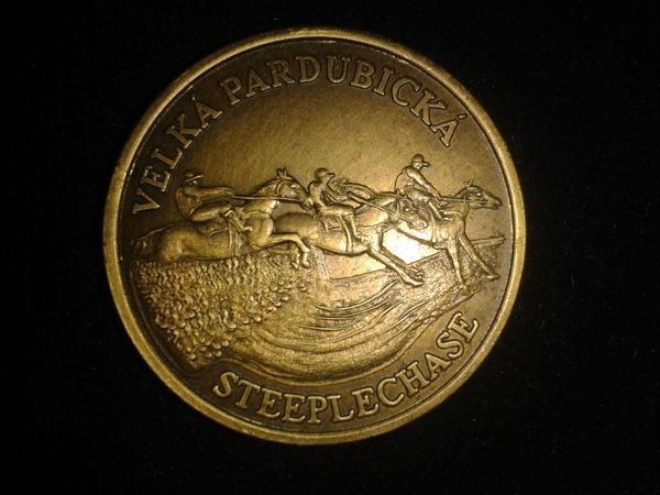 Medaille für Große Pardubicer Steeplechase -