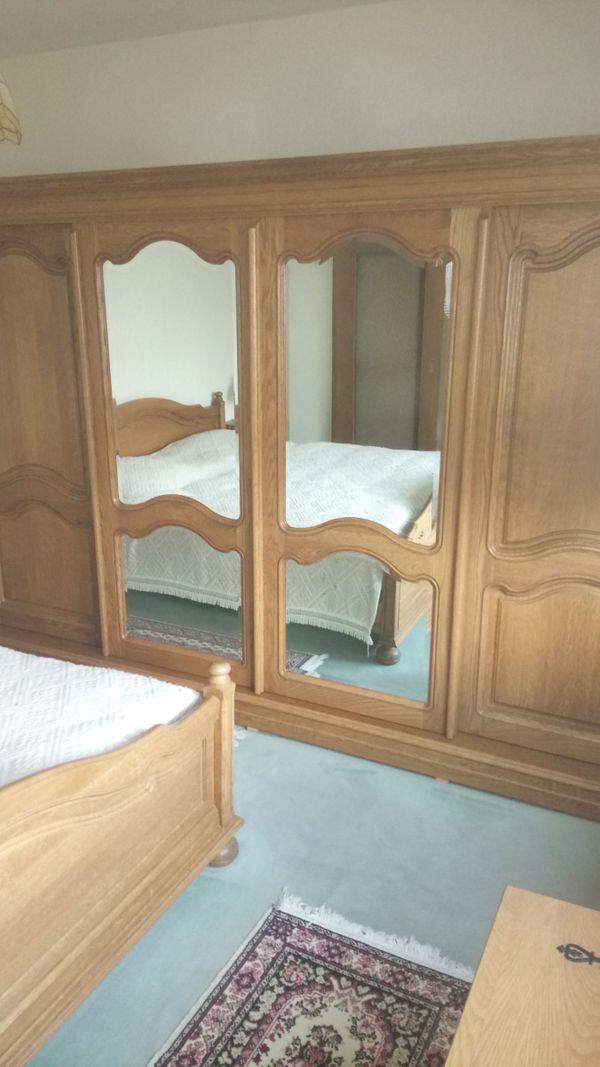 Eiche Schlafzimmer aus Belgien Komplett