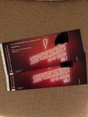 2 Eintrittskarten für das Supercandy