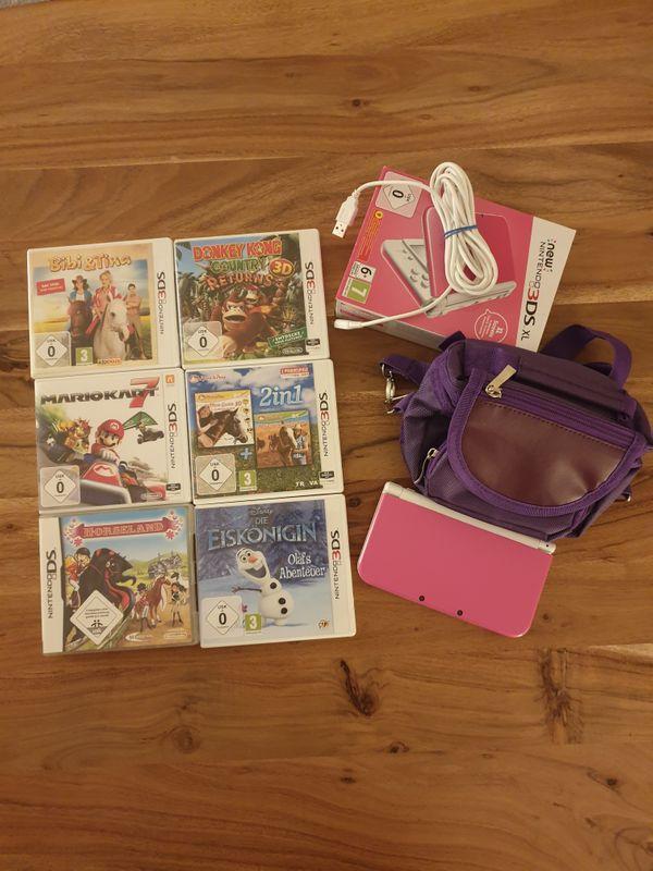 Nintendo 3DS Xl Pink inkl