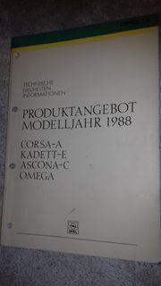Original Opel KTA 1467 Technische