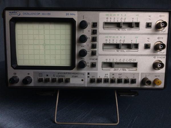 Hupra International Oszilloscop 20MHz HJ-131