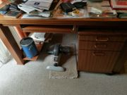 Schreibtisch Mahagoni massiv
