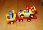 NEU Playmobil Rennauto mit Transporter