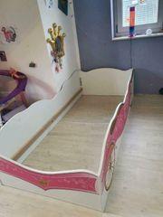 Kutschenbett rosa 90cm x200cm