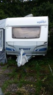Fendt Saphir 510 Wohnwagen Caravan
