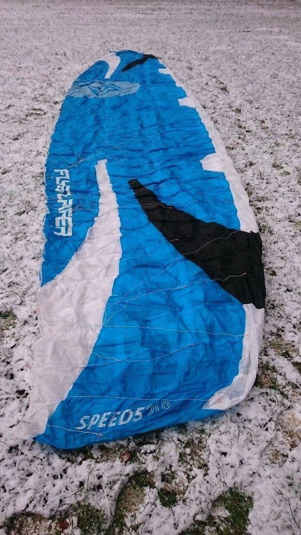 ba1b993017b179 Flysurfer Kite Speed 5 21qm mit 60cm Infinity 3.0 Airstyle-Bar in ...