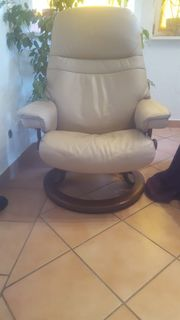 Creme Farbener Sessel