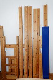 Kinderbett Hochbett Massivholz